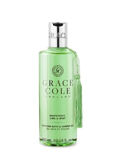Grace Cole Grace Cole Grapefruit, Lime & Mint Duş Jeli 300 Ml Renksiz